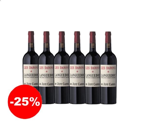 Les Darons rouge 2018 - AOP Languedoc (75 cl, caisse de 6)