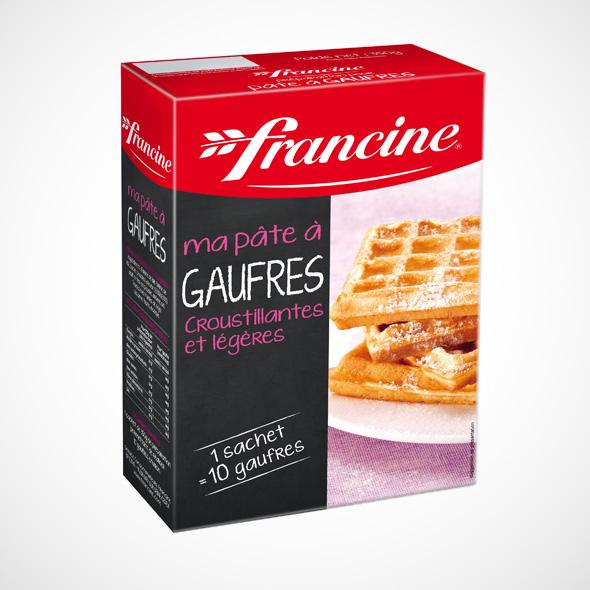 Préparation pour Gaufres, Francine (350 g)