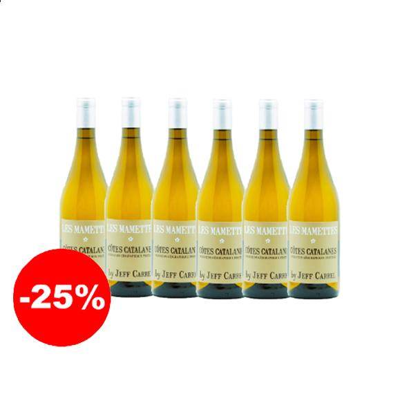 Les Mamettes - 2018 - IGP Côtes Catalanes (75 cl, caisse de 6)