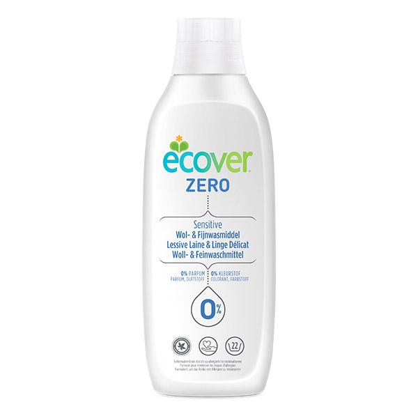 Lessive liquide laine et linge délicat 0% sans parfum, Ecover (1 L)