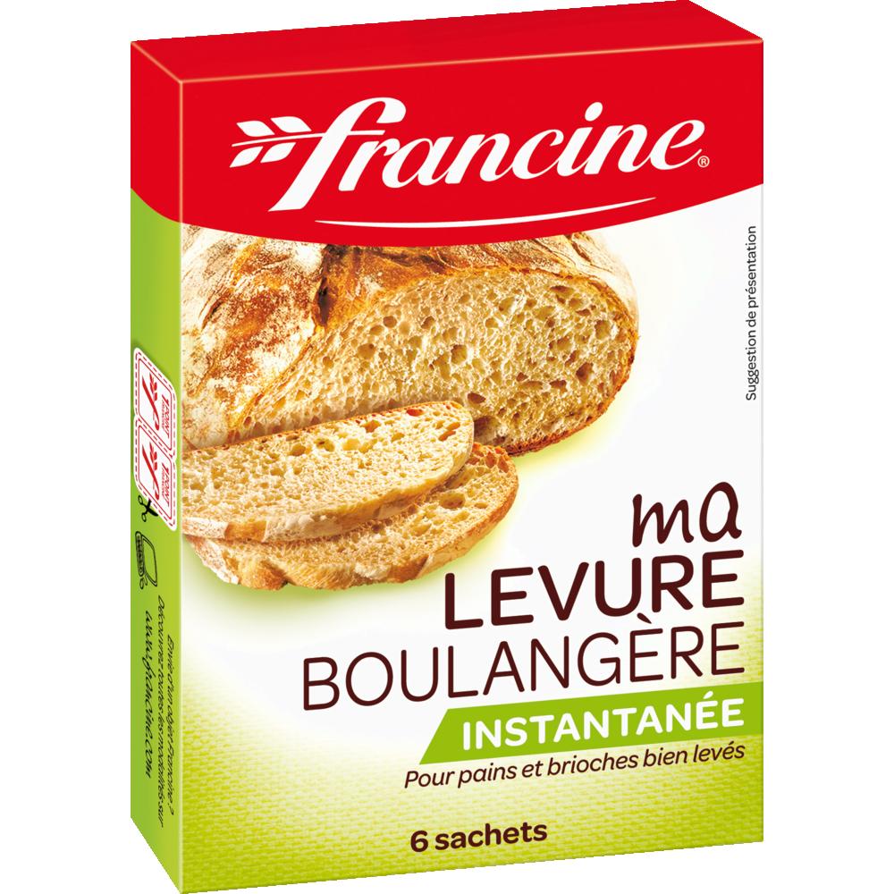Levure boulangère spéciale pain, Francine (x 6, 30 g)