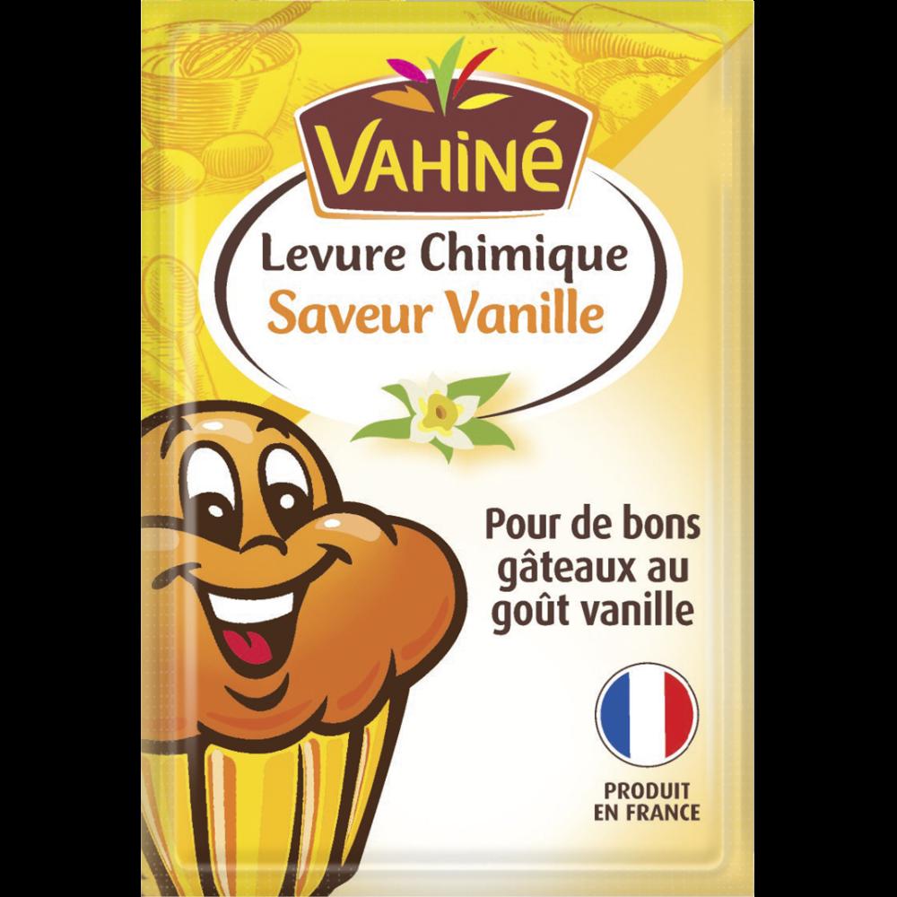 Levure chimique saveur vanille, Vahiné (5 x 40 g)