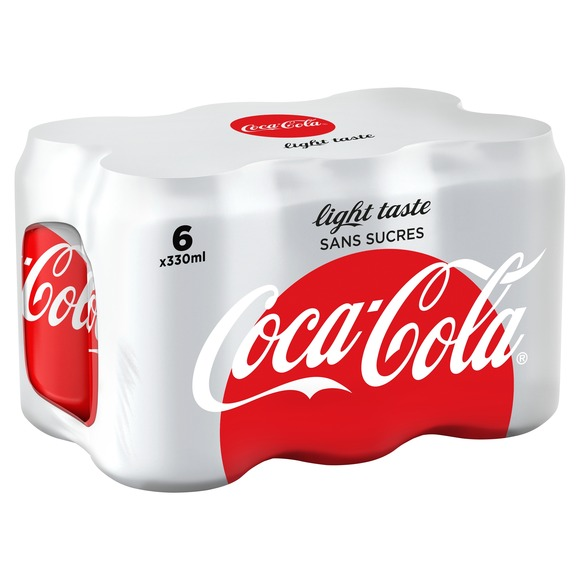 Coca-Cola Light (6 x 33 cl)