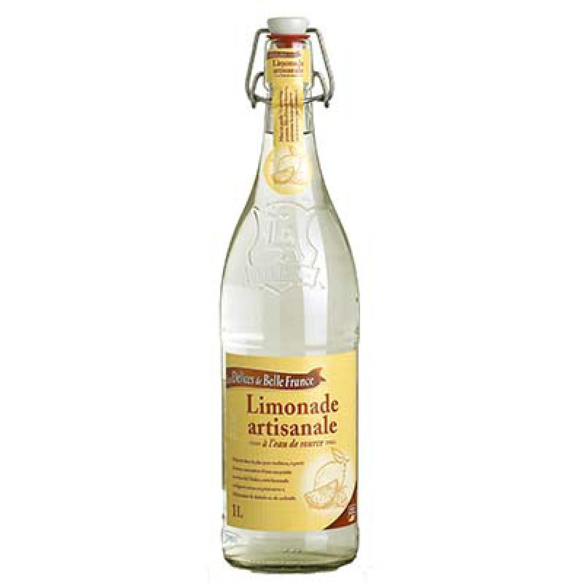Limonade artisanale, Les Délices de Belle France (1 L, bouteille en verre)