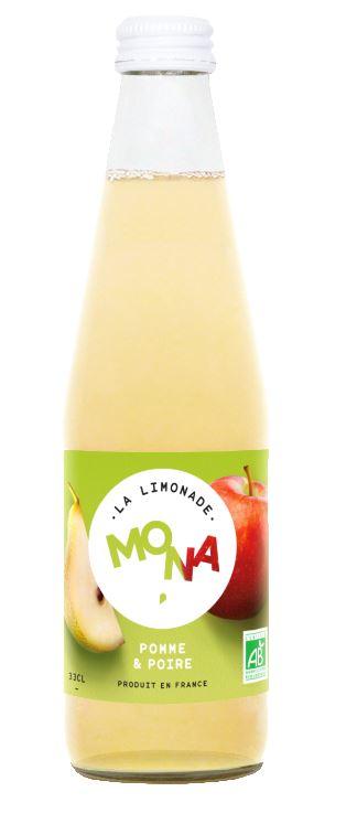 Limonade Pomme-Poire, Mona (33 cl)