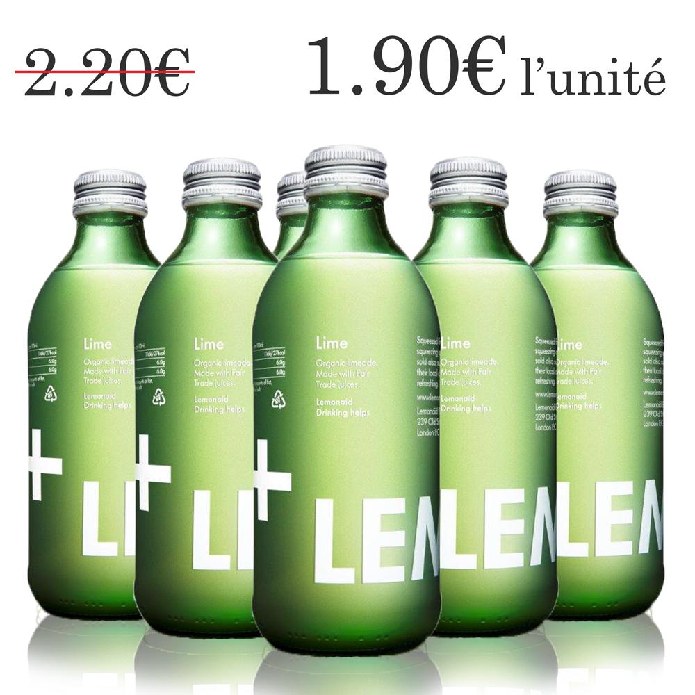 Lemonaid citron vert (6x33 cl)