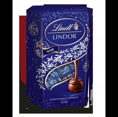 Cornet Boules Lindor Noir 70%, Lindt (200 g)