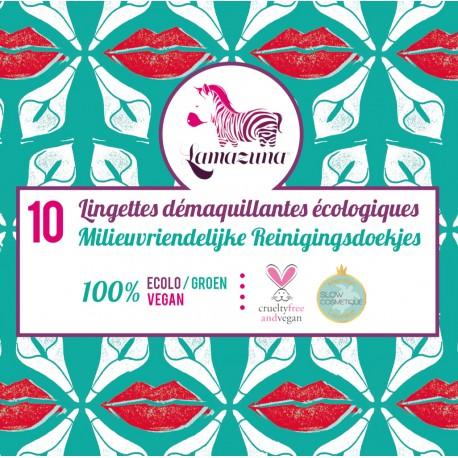 Lingettes démaquillantes, Lamazuna (x 10)