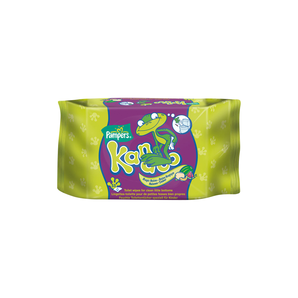 Lingettes parfum melon, Pampers Kandoo (x 55)