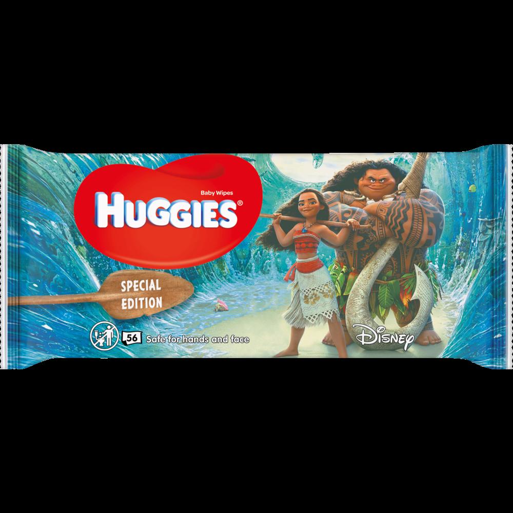 Lingettes pour bébé pour mains et visage Disney, Huggies (x 56)