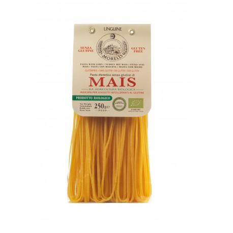 Linguine Maïs sans gluten BIO, Morelli (250 g)
