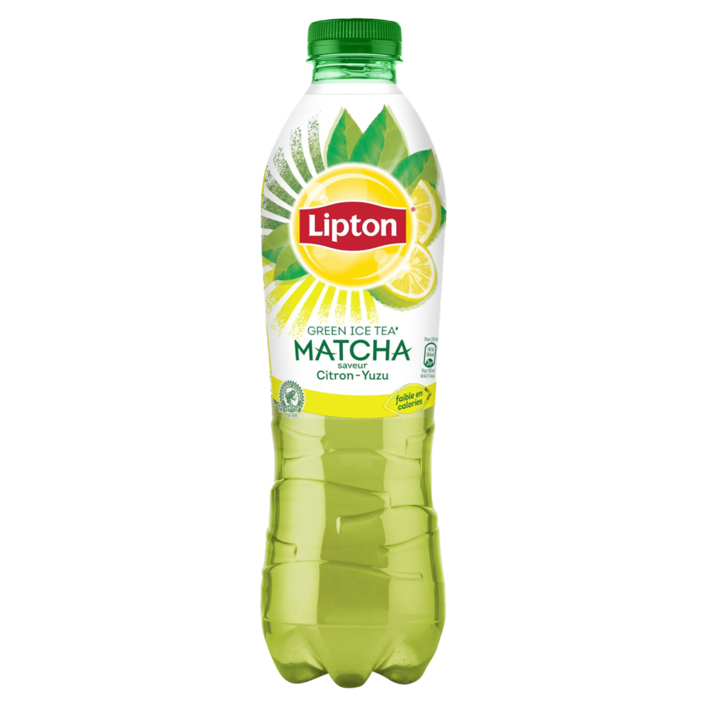 Green ice tea matcha saveur citron yuzu, Lipton (1 L)