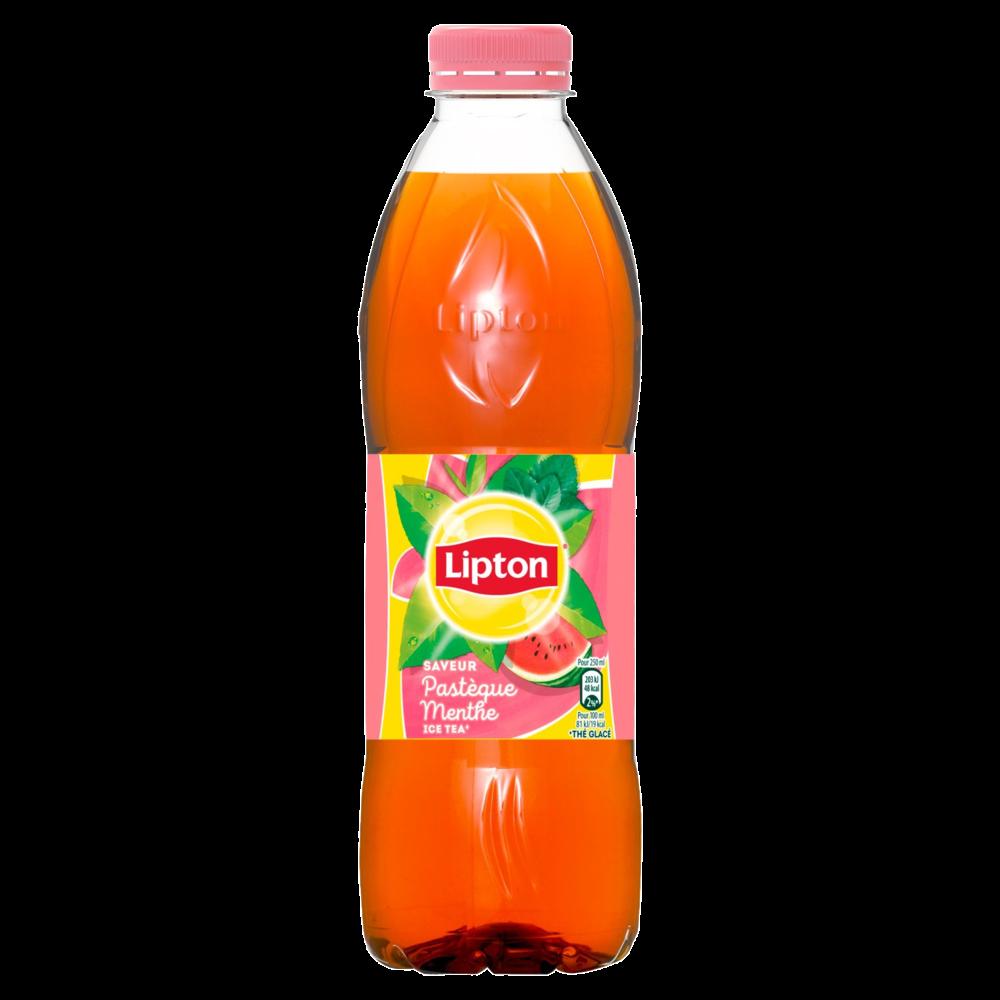 Ice Tea pastèque menthe, Lipton (1 L)
