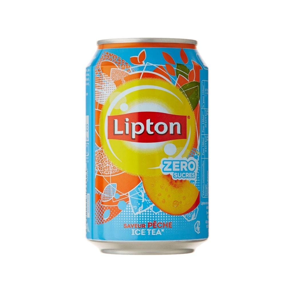 Lipton Ice Tea pêche zéro (33 cl)