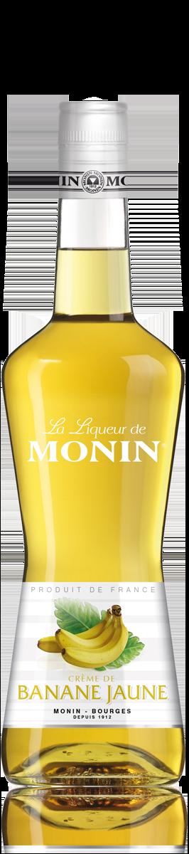 Liqueur de Banane 20°, Monin (70 cl)