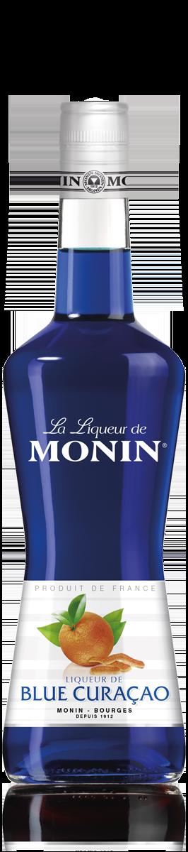 Liqueur de Curaçao Bleu 20°, Monin (70 cl)
