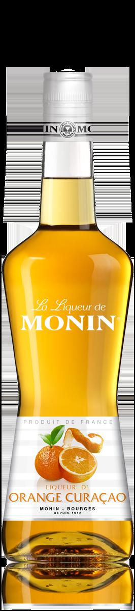 Liqueur de Curaçao Orange 24°, Monin (70 cl)
