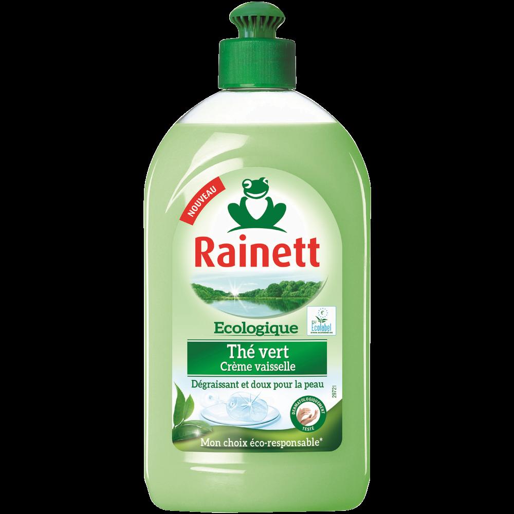 Liquide vaisselle crème thé vert, Rainett (500 ml)