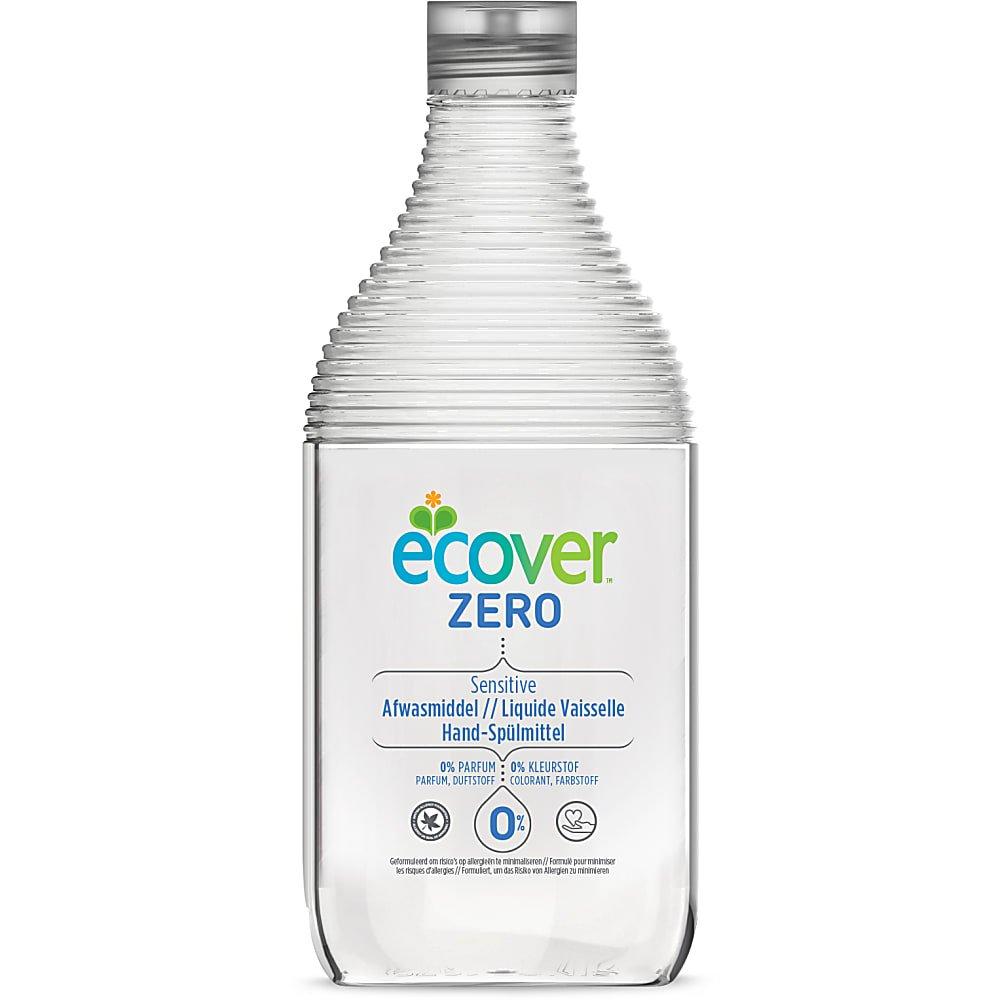Liquide vaisselle main 0%, sans parfum, Ecover (450 ml)