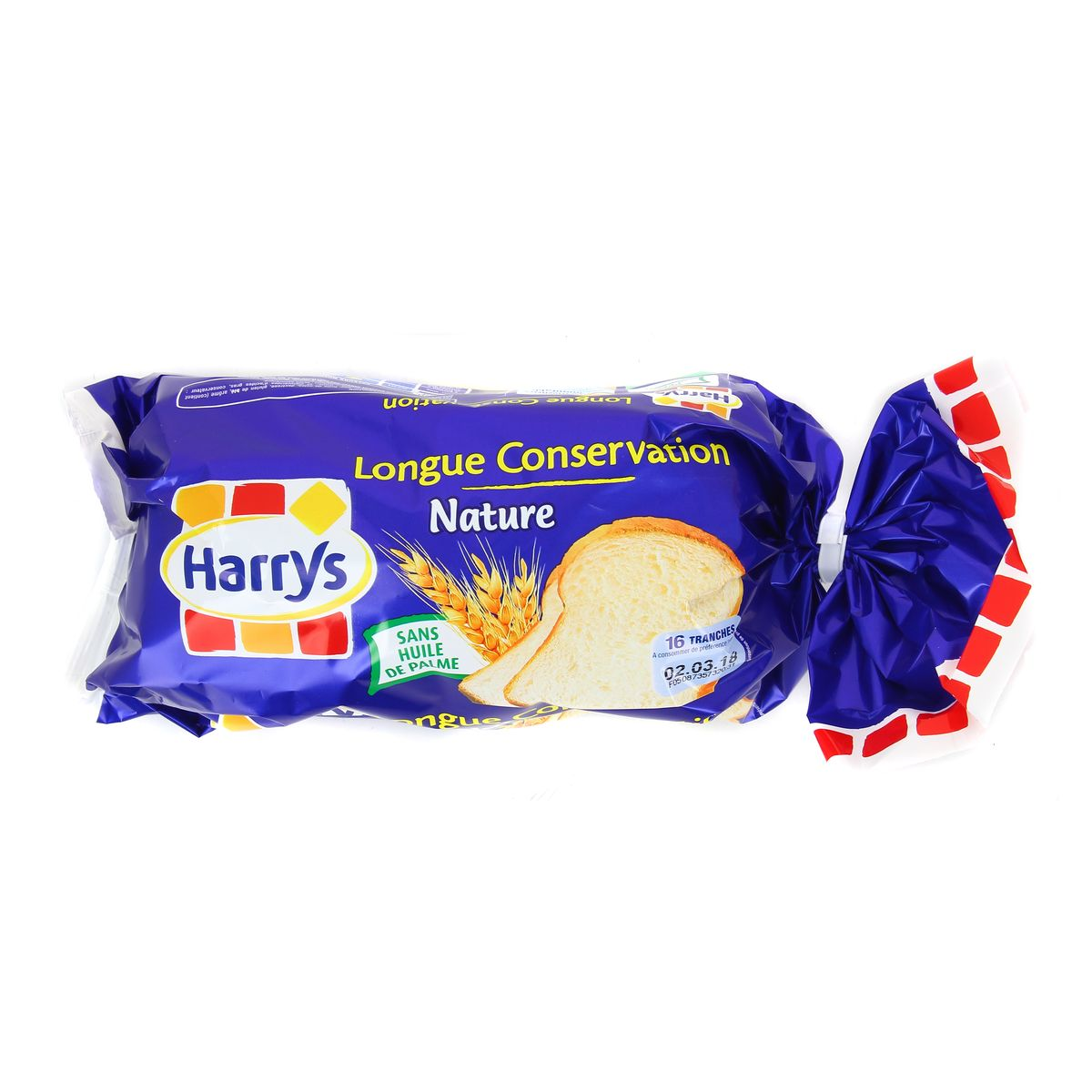 Pain de mie longue conservation, Harry's (250 g)