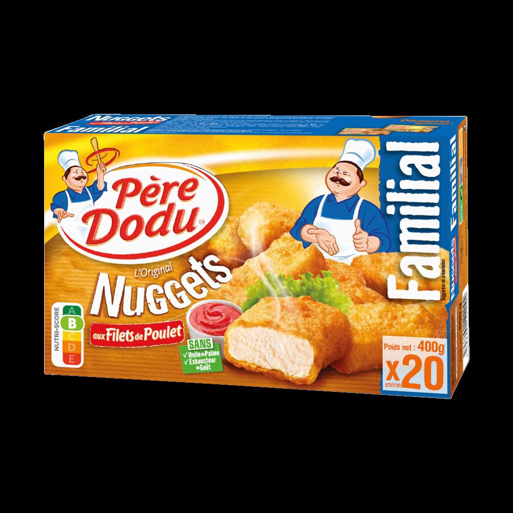 Nuggets aux filets de poulet, Père Dodu (400 g)