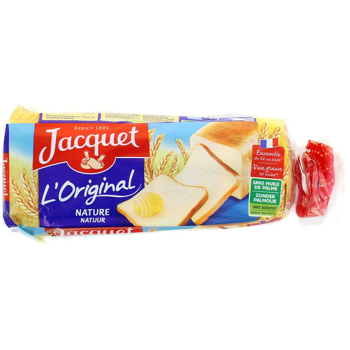 Pain de mie nature l'original, Jacquet (450 g)