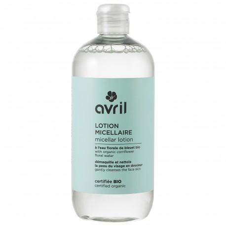 Lotion micellaire certifiée BIO, Avril (500 ml)