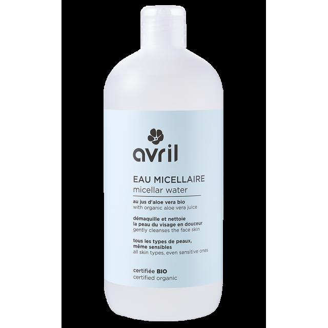Eau micellaire certifiée BIO, Avril (500 ml)
