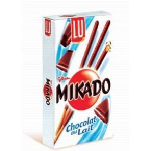 Mikado Chocolat au lait Lu (90 g)
