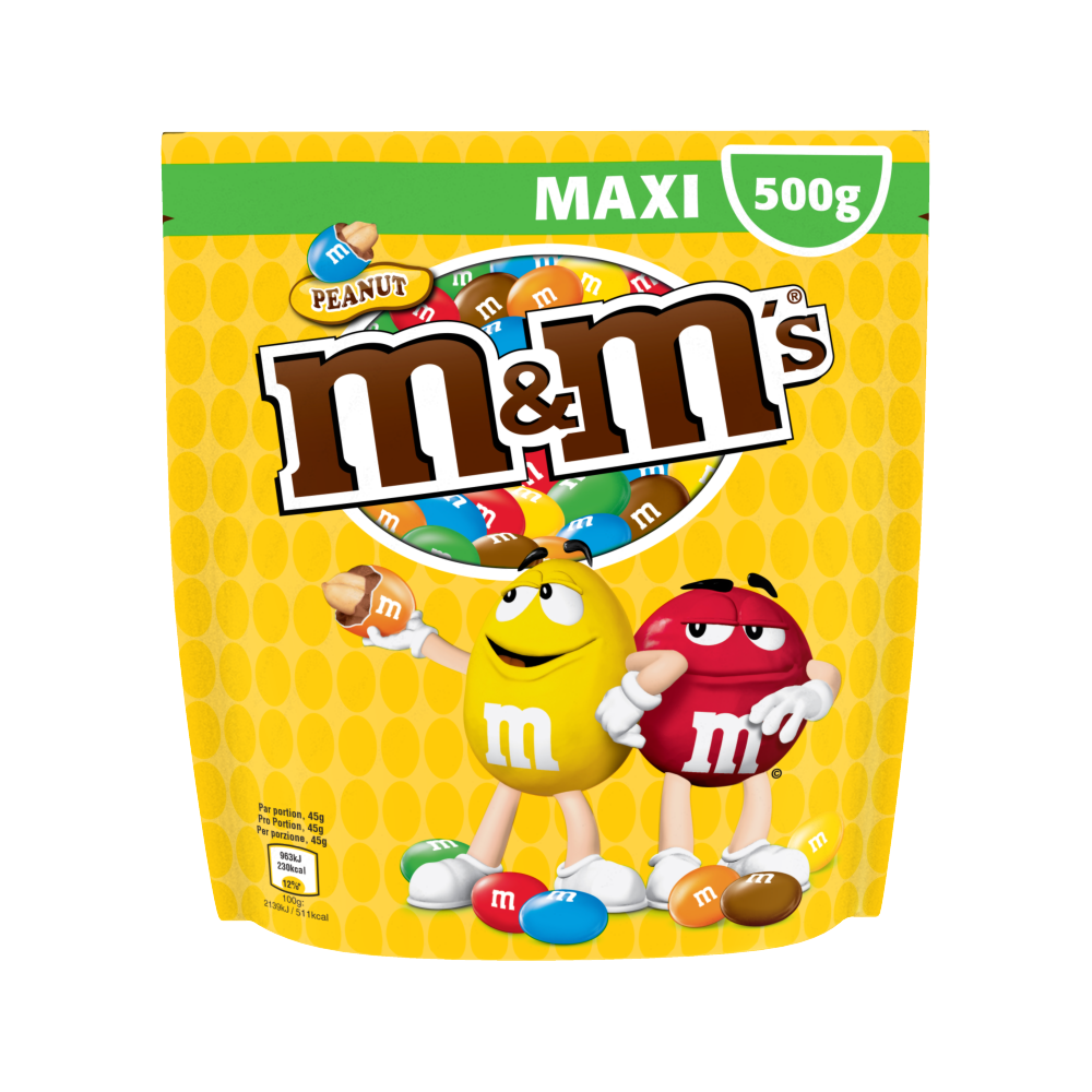 M&M'S cacahuètes Peanuts (500 g)