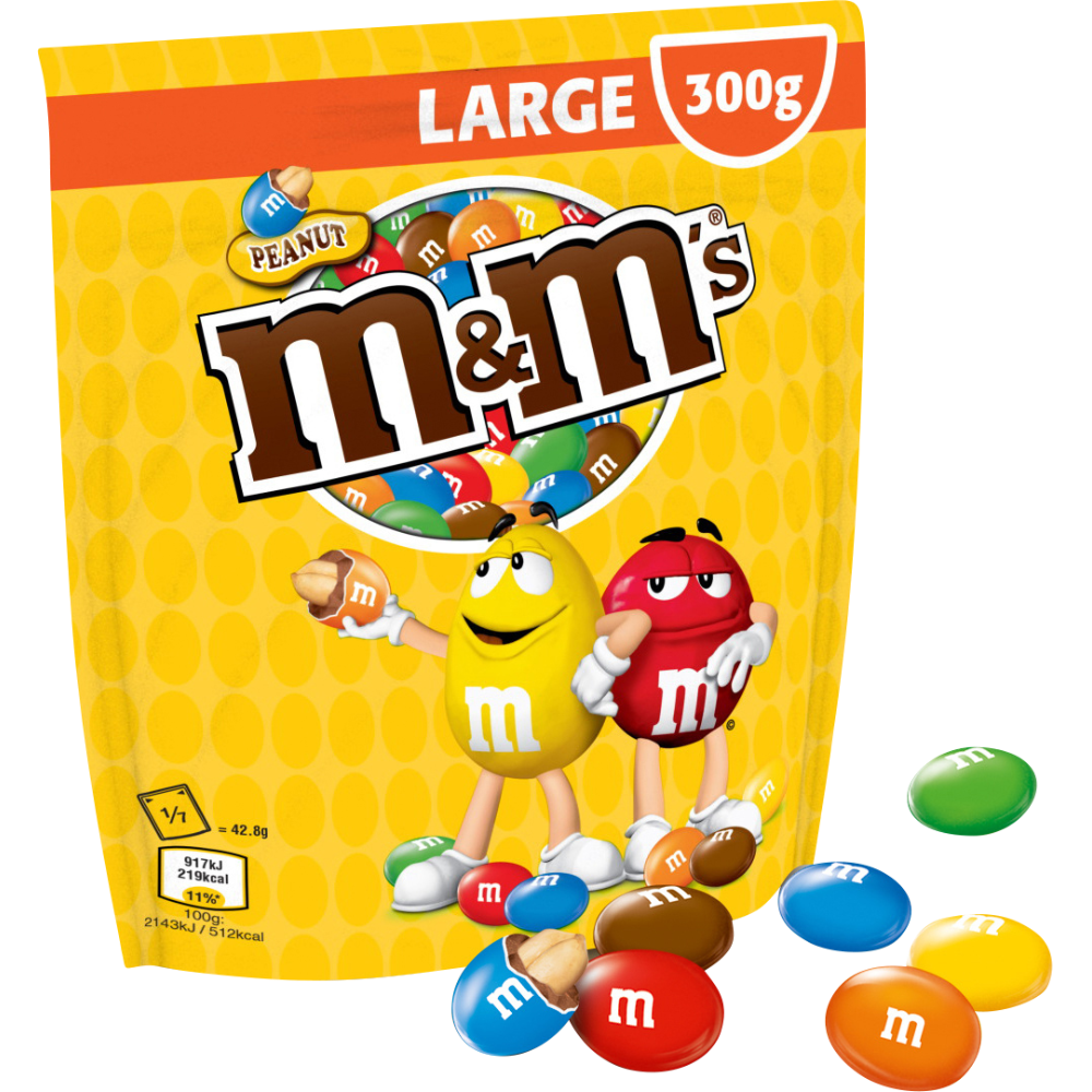 M&M'S Peanuts (300 g)