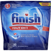 Tablettes pour lave-vaisselle Powerball Tout en 1, Finish Calgonit (x 30)