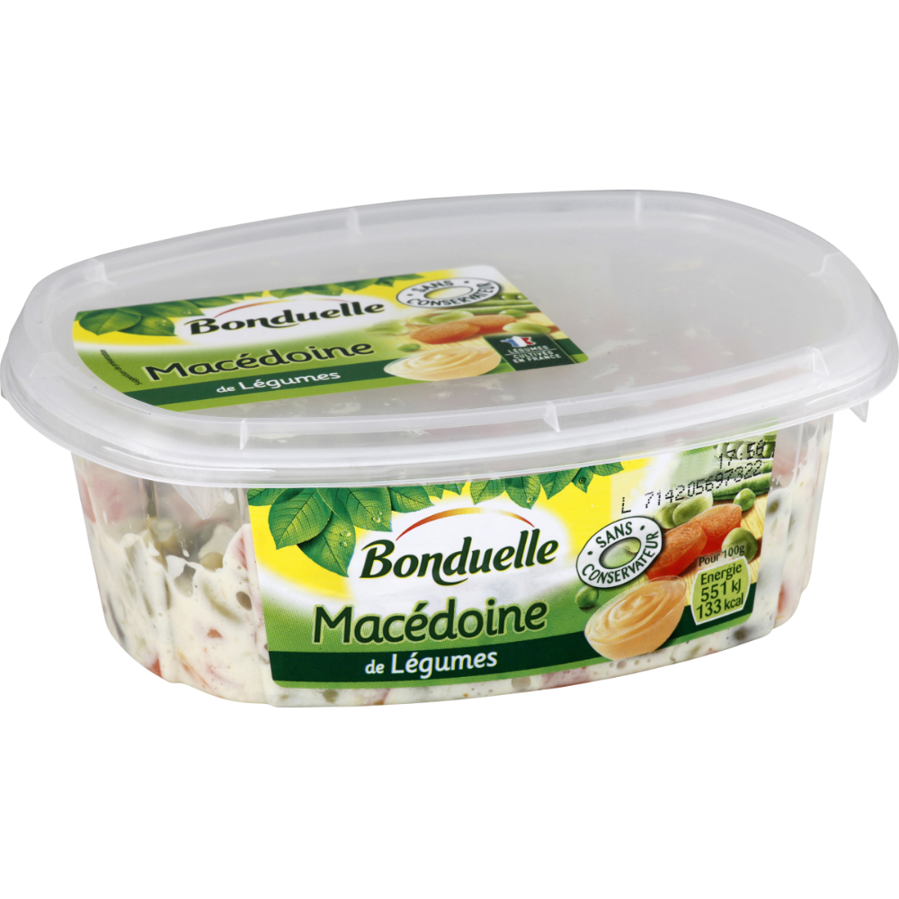 Macédoine de légumes, Bonduelle (320 g)