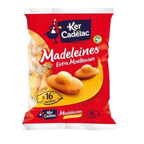 Madeleines Extra Moelleuses, Ker Cadélac (x 16, 400 g)