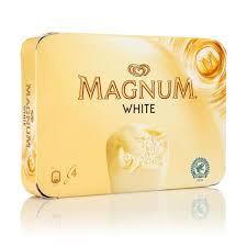 Magnum Vanille/Chocolat Blanc, Miko (x 4)