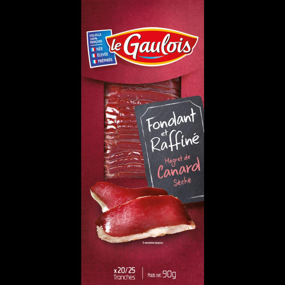 Magret de canard séché, Le Gaulois (90 g)