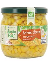 Maïs doux BIO, Jardin Bio (330 g)
