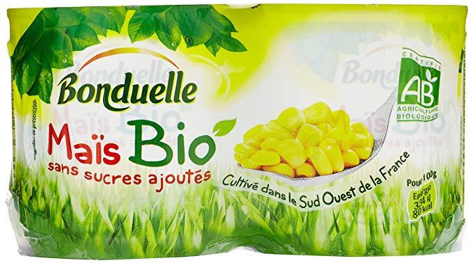 Mais BIO, Bonduelle (2 x 140 g)