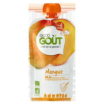 Mangue BIO - dès 4 mois, Good Goût (120 g)