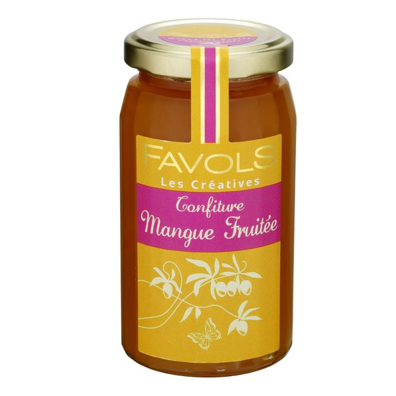 Confiture de mangue 100% fruits, Favols (250 g)