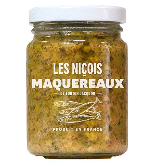Maquereaux de Tonton Jacquou, Les Niçois (80 g)