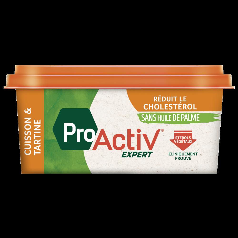 Margarine allégée cuisson et tartine 55% MG, Proactiv expert (450 g)