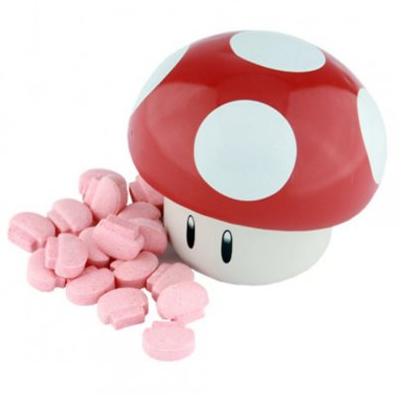 Bonbons acidulés champignon, Nintendo Super Mario Bross (28 g)