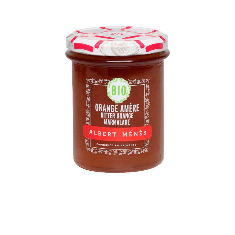 Marmelade d'Orange Amère BIO, Albert Ménès (230 g)
