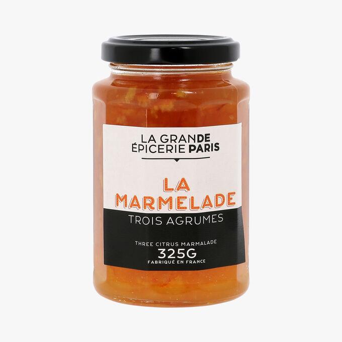 Marmelade aux trois agrumes, La Grande Epicerie de Paris (325 g)