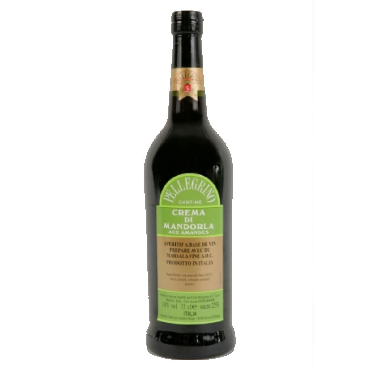 Marsala aux amandes - Crema mandorla - Pellegrino (75 cl)