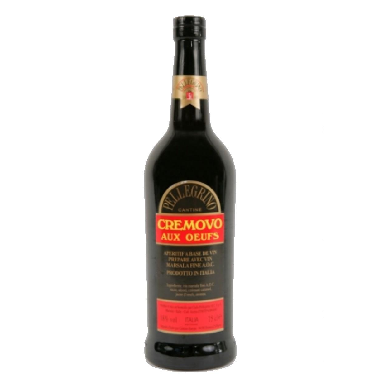 Marsala aux oeufs - Cremovo - Pellegrino (75 cl)