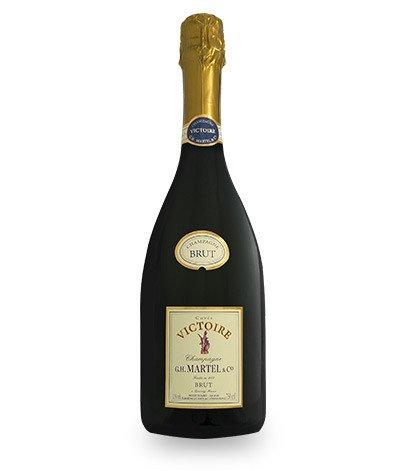 Champagne Brut cuvée victoire, G.H.Martel et Cie (75 cl)