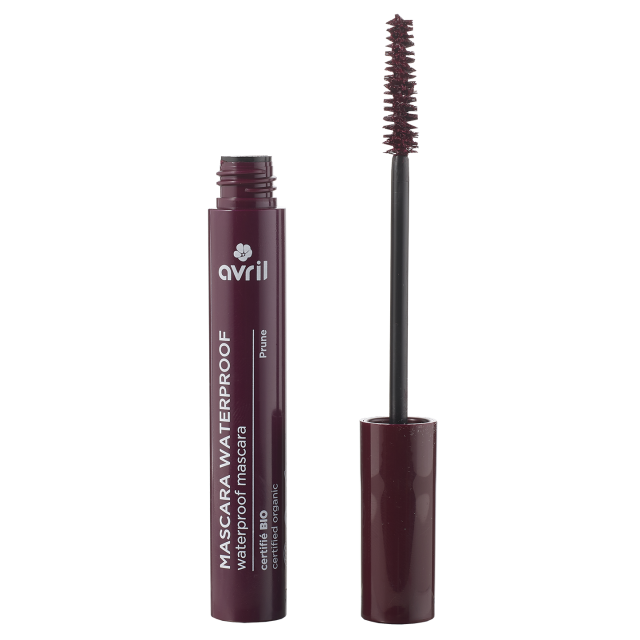 Mascara waterproof prune certifié BIO, Avril (10 ml)
