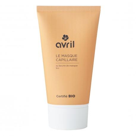 Masque capillaire au beurre de mangue certifié BIO, Avril (150 ml)